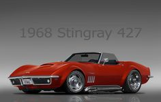 """1968 Corvette Stingray 427 Classic """"Candy"""" (dropped) 