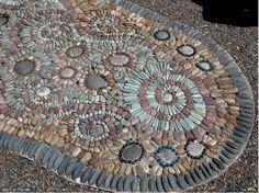 Nancyland Garden Pebble Mosaic