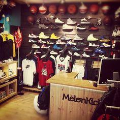 Nike Basketball & Jordan Brand Area in MelonKicks Store