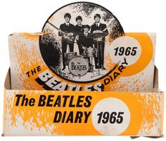 beatles diary box   The Beatles Diary for 1965   1965   Pinterest