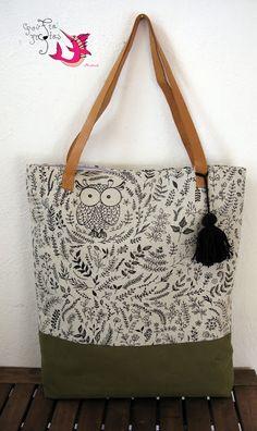 handmade tote bag Tote Bags Handmade, Fashion, Manualidades, Moda, Fashion Styles, Fashion Illustrations, Fashion Models