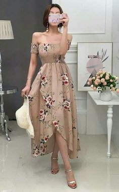 Fashion Outfits Vestidos Ideas For 2019 Trendy Dresses, Cute Dresses, Beautiful Dresses, Casual Dresses, Casual Outfits, Prom Dresses, Summer Dresses, Evening Dresses, Mode Outfits