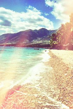 Kaliko Beach, Haiti. Been there! :) Stayed there while on a missions trip!