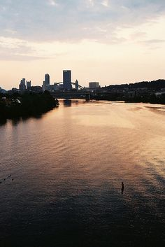 Pittsburgh, Pennsylvania - City of 3 rivers and love walking where this one was taken for sure :)