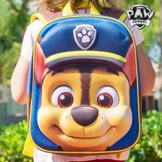 Mochila Escolar 3D Chase (La Patrulla Canina) - 603 La vuelta al cole será mucho más llevadera para los peques con la mochila escolar 3D Chase (La Patrulla Canina)! Esta mochila infantil dispone de relieve en la parte frontal (goma EVA)...