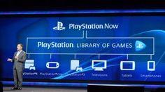 Sony anuncia PlayStation Now: el servicio de juegos en la nube para televisores, consolas y móviles. #Gestion