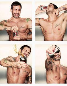 Marc Jacob new Diet Coke's New Creative Director