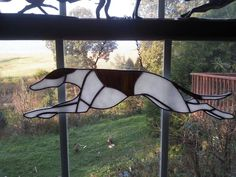 AMERICAN LURCHER PROJECT AWESOME AUCTION!  Gorgeous stained glass piece!  Ends Saturday!