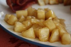 Stewed Cinnamon-Sugar Apples   Good ol' southern food.  This is one my favorites!  From WholesomeMommy.com