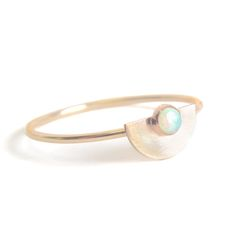 Opal Saturn Ring | Favor Jewelry