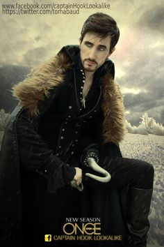 Guy that looks like Ouat Captain Hook