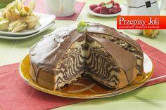 ZEBRA - TRADYCYJNY PRZEPIS - na piękne i smaczne ciasto w paseczki, które sprawdza się na każdą okazję. Wypróbowany przepis.