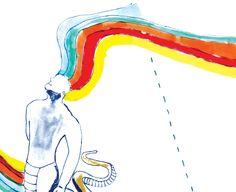 ilustração do livro A Grande Serpente
