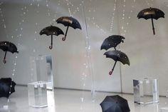 Urban patterns and matters: Umbrellas