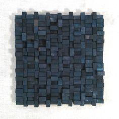 Wood Blocks - wall sculpture