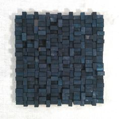 Wood Blocks - wall sculpture