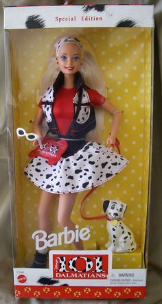 101 Dalmatians Barbie #17248...I might've actually played with this Barbie.