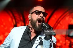 AJ McLean of the Backstreet Boys performs on stage at Gibson Amphitheatre on September 4, 2013 in Universal City, California.