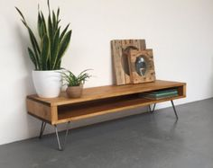 Private listing for Sonor Record/ Console Table by DerelictDesign