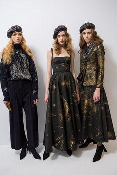 Christian Dior Fall 2017 Fashion Show Backstage, Paris Fashion Week, PFW, Runway, TheImpression.com - Fashion news, runway, street style, models