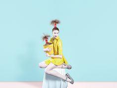 Evolve, photographies aux poils par Bara Prasilova - Grafik Milk