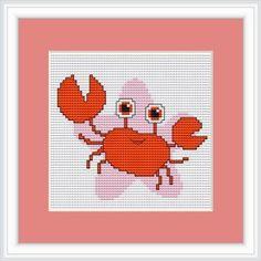 Luca-S LB053 - Schema punto croce contato, segno zodiacale Cancro, 10,5 x 11 cm   eBay