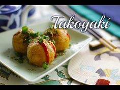 How to Make Vegan Takoyaki - YouTube  https://www.youtube.com/watch?v=nFWPxbwsiL8