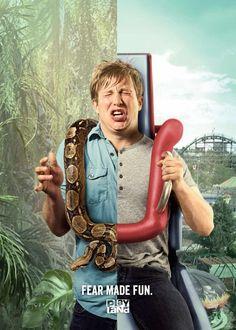 A l'ombre des publicités : le serpent