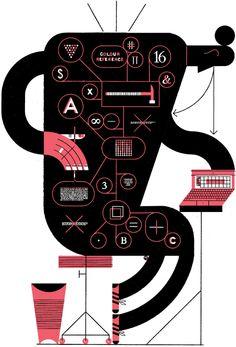Raymond Biesinger / #illustration