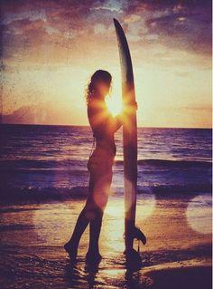 surf, sand, sun
