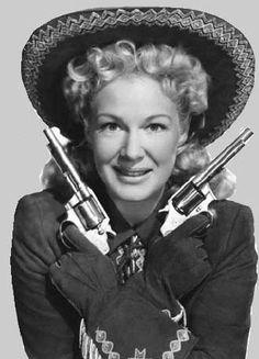 Betty Hutton as Annie Oakley in Annie Get Your Gun, 1950