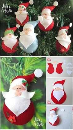 diy santa claus sewing patterns and ideas xmas decorations