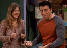 """Something Crazy Happened In This 'Friends' Episode And No One Knew // Season 9, Episode 15 """"The One with the Mugging"""" (around 03:00) - Who is this mystery girl, and what happened to Rachel Green?!"""