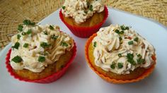 Cupcakes salés aux sardines