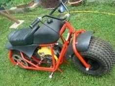 "1990 Mini-bike / fat tire model,  10"" wide tires"