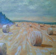 Campi 50x50 cm Luigi Torre painter 2016
