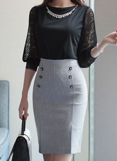 Business outfits women - Korean Women's Fashion Shopping Mall, Styleonme. N Informations About Business outfits women Pin Y - Classy Work Outfits, Classy Dress, Office Outfits, Chic Outfits, Dress Outfits, Fashion Outfits, Women's Fashion, Office Wardrobe, Work Dresses