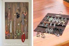 Wall Hung Jewelry Organizer | Palm Beach Jewelry | Friedmans Jewelers Hanging Jewelry, Palm Beach Jewelry, Jewelry Armoire, Jewelry Organization, New Trends, Triangle, Jewels, Wall, Jewelry Storage