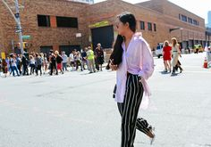 Street Style: New York Fashion Week Spring 2016 Ready-to-Wear |Sarah Chavez New York Fashion Week Street Style, Fashion Week 2016, Nyfw Street Style, Spring Summer Trends, Summer Pics, Spring 2016, Fall 2015, City Outfits, Work Outfits