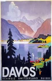 Ski Champery Vintage Travel Poster Giclee Canvas Print 30x46