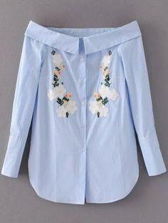 GET $50 NOW | Join Zaful: Get YOUR $50 NOW!http://m.zaful.com/off-shoulder-floral-stripe-shirt-dress-p_267344.html?seid=p9tk8vgvs21aoekd5i9nhtftt2zf267344