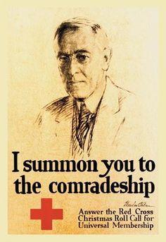I Summon You to the Comradeship 28x42 Giclee on Canvas
