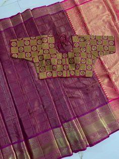 Purple Saree, Orange Saree, Green Saree, Purple Blouse, Navratri Dress, Handloom Weaving, Brocade Blouses, Indian Designer Sarees, Indian Lehenga