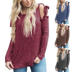 Laura Lynn Cold Sleeve Top with Bow Sleeves ~ 4 Colors to Choose From!!