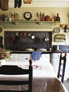 Country-Style Kitchen in Dorset | via English Decoration book by Ben Petreath | photo Jan Baldwin | House & Home