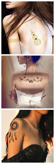 Our temporary tattoo stickers look so real, get one of this to try it out… Trendy Tattoos, Unique Tattoos, Beautiful Tattoos, Tattoos For Women, Unique Tattoo Designs, Henna Designs, Piercing Tattoo, Piercings, Hennas