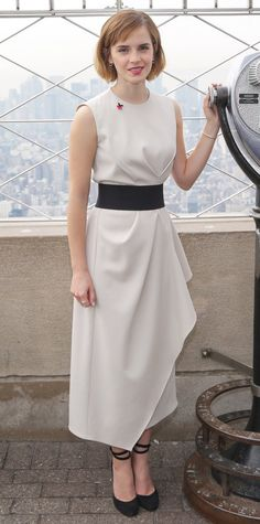 Look of the Day - Emma Watson - from InStyle.com