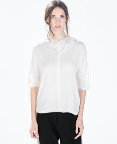 ZARA - 여성 - 후드 티셔츠