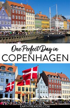 One perfect day in Copenhagen, Denmark. With this one day itinerary, visit the best places, find out where to stay and where to eat. #copenhagen #denmark #itinerary #europe