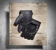 Fingerless Leather Gloves
